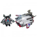 Transformers Mini figurine Bot Shots avec lanceur : Starscream