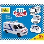 Maquette voiture : Kit Clac : Ambulance