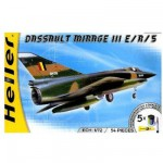 Maquette avion : Kit complet : Mirage III E/R/5