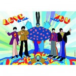 Puzzle 1000 pièces - Les Beatles : Love is all you need