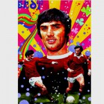 Puzzle 1000 pièces - The Legends Collection : George Best