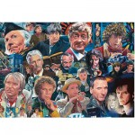 Puzzle 1000 pièces - The Legends Collection : Docteur Who