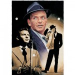 Puzzle 1000 pièces - The Legends Collection : The voice Frank Sinatra