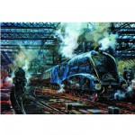 Puzzle 500 pièces - Train à vapeur : The Flying Scotsman