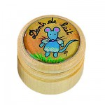 Bote  dents de lait : Grand modle en bois
