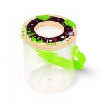 Boite  insectes avec loupe Sauterelle