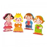 Wooden Magnets - Funny Baby Dolls