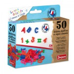 Set of 50 Capital Letters - Magnetic
