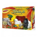 Coffret pltre et pte  sel Double Activit : La jungle