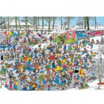 Puzzle 1000 pices - Jan Van Haasteren : Sur la glace