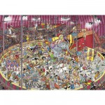 Puzzle 1000 pices - Jan Van Haasteren : Dans le cirque
