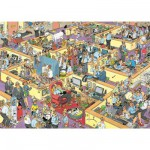 Puzzle 2000 pices - Jan Van Haasteren : Le bureau