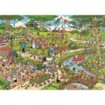 Puzzle 3000 pices - Jan Van Haasteren : Le parc