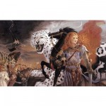 Puzzle 1000 pices - Collection Silver - Kinuko : Cri du Tigre Blanc