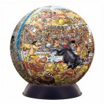 Puzzle ball 240 pices - Wasgij Destiny - Puzzle-A-Round : Odysse olympique