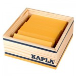 Kapla 40 planchettes - Jaune