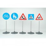 Scurit Routire  :  Set de 5 panneaux routiers
