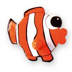 Porte-gant Poisson Clown