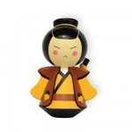 Poupée Warriors en bois : Kei