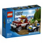 Lego 4437 - City : La course poursuite en forêt