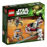 Lego 75000 : Star Wars Clone Trooper contre Droïdekas