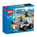 Lego 7279 - City : Collection de figurines City Police