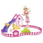 Barbie - My Fab Sisters : Barbie Puppy Play Park