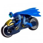 Figurine Batman L'alliance des hros : Batmoto