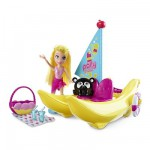 Polly Pocket Bateau banane Polly