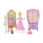 Figurine Princesses Disney Mini princesse et mobilier : Cendrillon