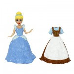 Figurine Princesses Disney Mini princesse et tenue : Cendrillon