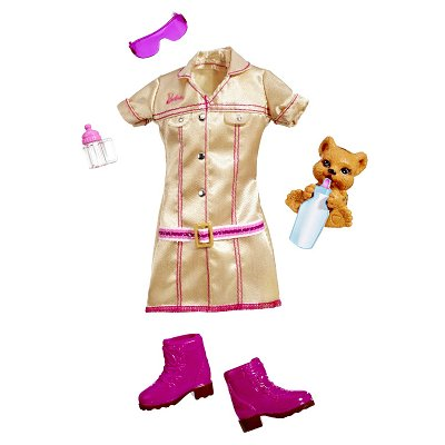  Vtements pour poupe Barbie Les mtiers : Dresseuse de fauve