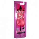 Vtements pour poupe Barbie Robe fabuleuse : Rouge vichy