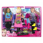 Vtements pour poupe Barbie 3 tenues du soir : Sur le dancefloor