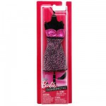 Vtements pour poupe Barbie Robe fabuleuse : Mouchete rose et noire