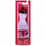 Vtements pour poupe Barbie Robe fabuleuse : Roses violettes