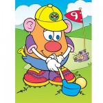 Jigsaw Puzzle - 4 Pieces - Mr. Potato : Golfing