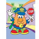 Jigsaw Puzzle - 4 Pieces - Mr. Potato : Policeman