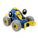 Meccano Build & Play : Bulldozer : Bleu