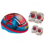 Set de protections Spiderman  Casque : Taille M