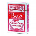 Cartes de Poker Bee poker 92 : Rouge