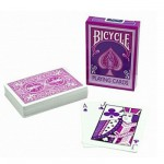 Cartes de Poker Bicycle fashion : Framboise