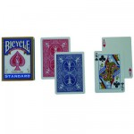 Cartes de Poker Bicycle standard : Bleu