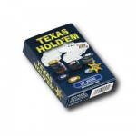 Cartes de Poker Texas hold'em : Bleu