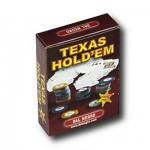 Cartes de Poker Texas hold'em : Rouge