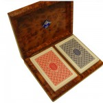 Coffret en Thuya : Bridge + cartes
