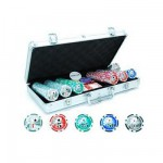 Mallette de Poker Texas Hold'em : 300 jetons marqués
