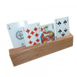 Porte-cartes bois : 3 niveaux
