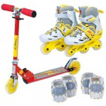 Patinette et rollers  Set Street Teens Flash