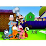 Puzzle 150 pices maxi : Garfield Photo familiale
